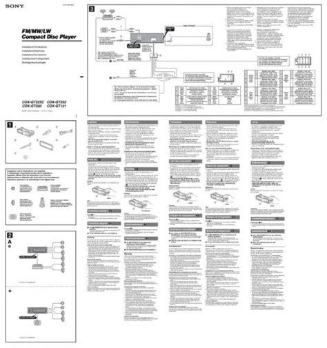 Sony Cdx Gt35uw Wiring Diagram by Sony Xplod Cdx Gt35uw Wiring Diagram