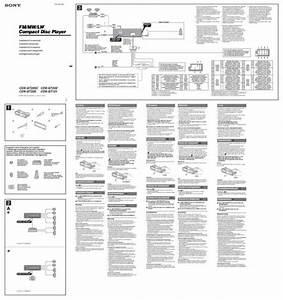 Sony Xplod Cdx Gt35uw Wiring Diagram