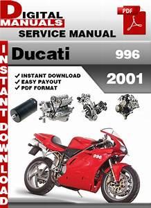 Ducati 996 2001 Factory Service Repair Manual