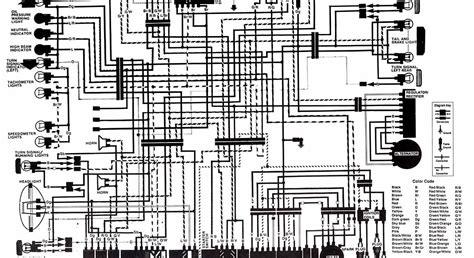 honda motorcycle cb750f wiring diagram circuit diagram