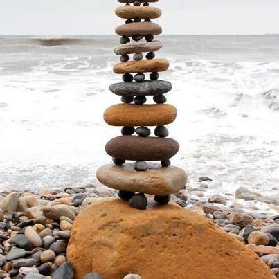 stacked rocks rock stacking me pinterest