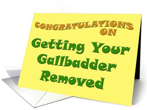 congratulations    gallbladder removed card