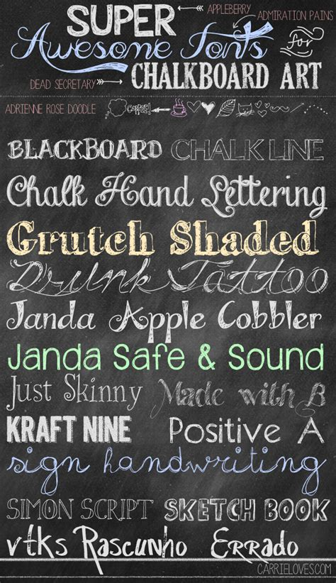 Fabulous Font Friday  Chalkboard  Carrie Loves. Complex Ptsd Signs. Plot Banners. Dry Fruit Banners. Red Gold Banners. Inspirational Murals. Congestion Signs. Discount Banners. Similar Logo
