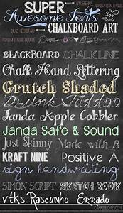 Fabulous font friday chalkboard fonts chalkboards and blackboards for Chalkboard sign font