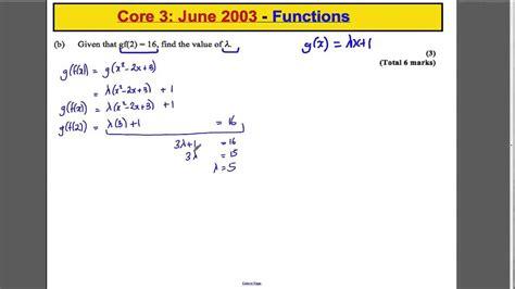 level maths edexcel core   paper questions
