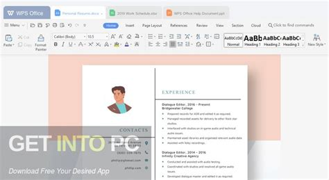 WPS Office 2020 Free Download | Get Into PC