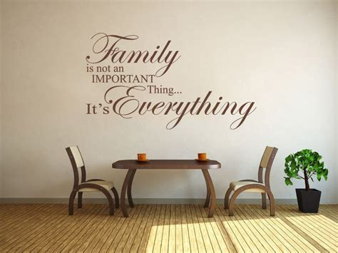 Family is everything - Wall Art Quote Wall Sticker Modern