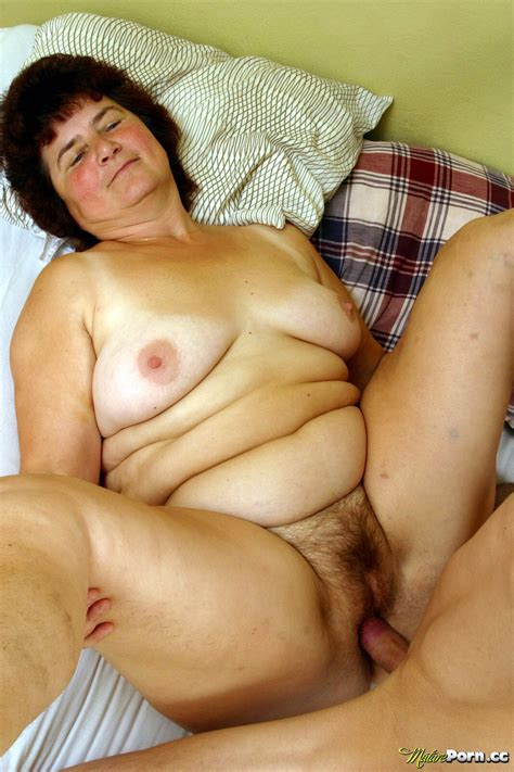 Nasty Grandma Gets Fucked In Various Positions Granny