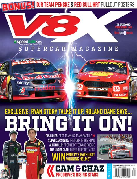 vx supercar magazine sale speedcafe
