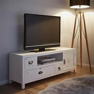 Möbel Weiß Holz : tv m bel lewis vintage online kaufen m max ~ Eleganceandgraceweddings.com Haus und Dekorationen