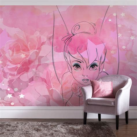 disneys tinkerbell wallpaper mural home decor hull limited