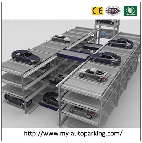 Shopping Cart Type Fully Automatic Garage Stacking Car