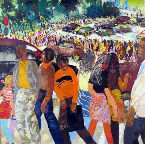 Mākslas tirgū nonācis rets Pauļuka darbs un lielizmēra ...