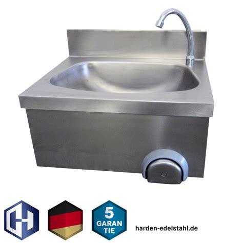 handwaschbecken mit unterschrank edelstahl harden edelstahl edelstahl handwaschbecken mit kniebedienung