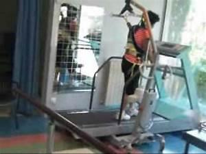 allegement du poids du corps sur un tapis de marche youtube With tapis de marche