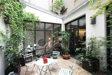 cour de cuisine lille 2e loft avec patio agence ea