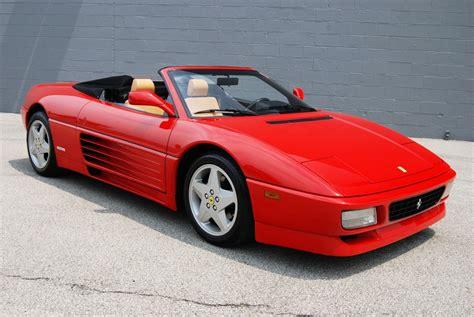 Ferrari 348 Spécifications Techniques Et économie De Carburant