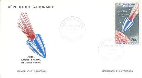 Jules Verne Stamps: 1970: Gabon