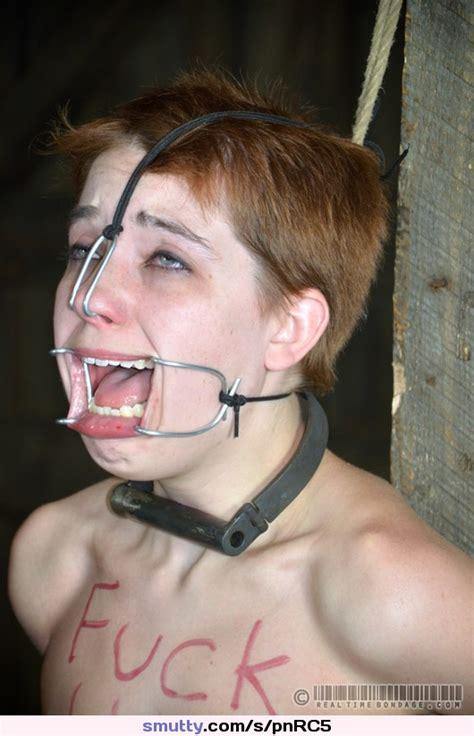 Bdsm Bondage Nosehook Redhead Shorthair Fuckpig Kink Kinky Perverse Slave Submissive