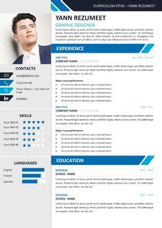 modern creative resume templates images