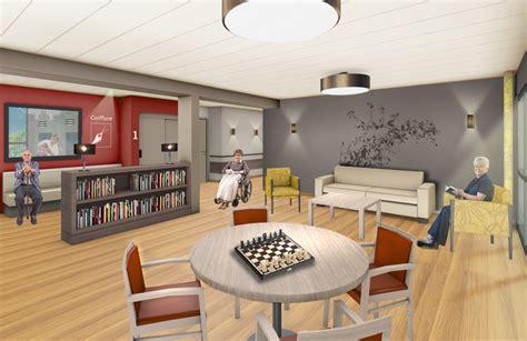 chambre en l agence le foll architecte d 39 intérieur ehpad les