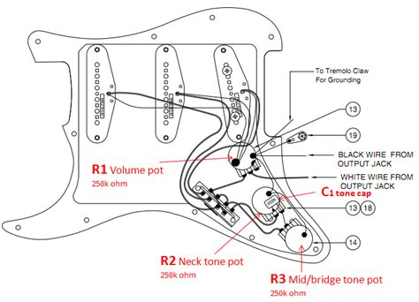 American Deluxe Strat Wiring Diagram by Stompboxed The Guitar Pedal Builders Repository