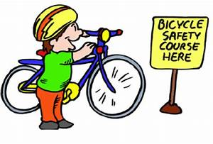 Free kids-bicycle safety coloring pages
