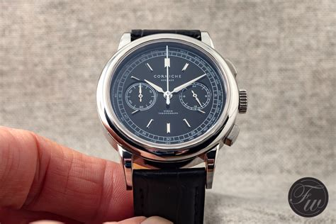Corniche Watches On With The Corniche Heritage Chronograph
