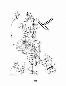 Mower Deck Diagram  U0026 Parts List For Model 917287030