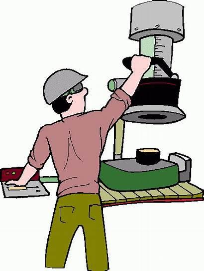 Operator Drill Clipart Press Clip Instructor Cliparts