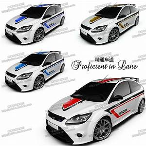 UNIVERSAL CUSTOMIZED 4 Designs Car Whole Body Sticker