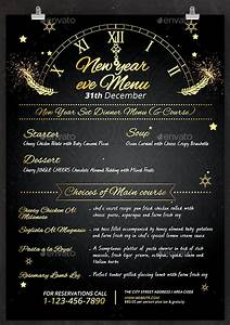Menu Template Free Word 8 Best New Year Menu Templates To Try This Season