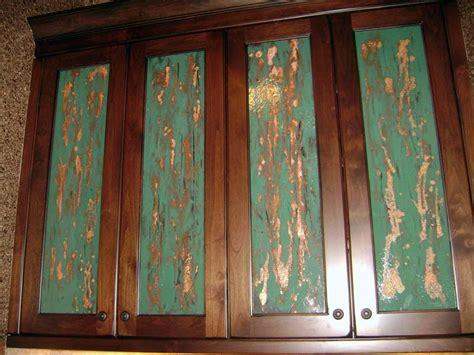 turquoise cabinet inserts designer glass mosaics