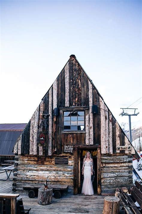 gorgeous mountaintop wedding  telluride ski resort