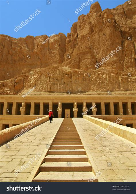 Awesome Temple Of Queen Hatshepsut 1508 1458 Bc Between
