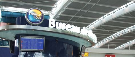 bureau de change heathrow railings gates canopies signage furniture