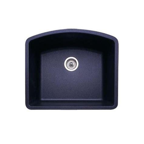 blanco silgranit single bowl sink in metallic gray blanco 440173 single bowl silgranit ii undermount