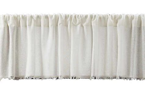 Inch Valance by Antique White Tobacco Cloth 72 Inch Valance The Patch