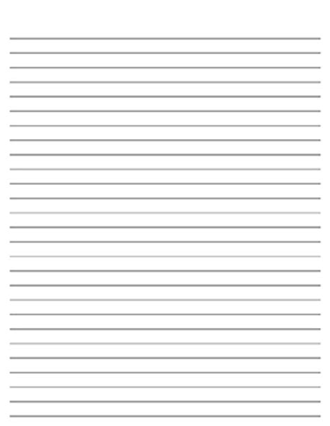 printable lined paper