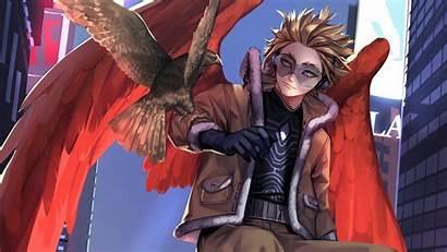 Academia Hero Hawks Dabi Twice Chapter Mha