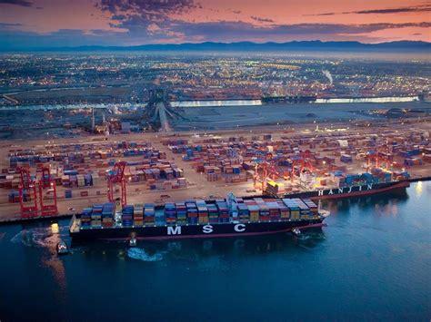 Port Of Long Beach Container Volumes Weighed Down By Pvc Belag Für Badezimmer Bilder Von Günstig Kaufen Renovieren Selber Machen Unterschrank Holz Badezimmern Eckregal Moderne Mit Dusche