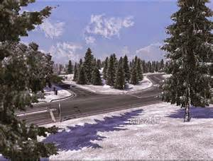 early winter mod v2 1 for 1 15 x ets 2 mods