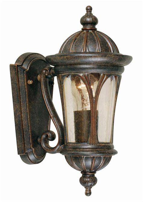 elstead new 1 light small outdoor wall lantern bronze