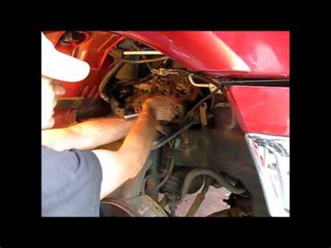 Removing The Starter From Ford Youtube