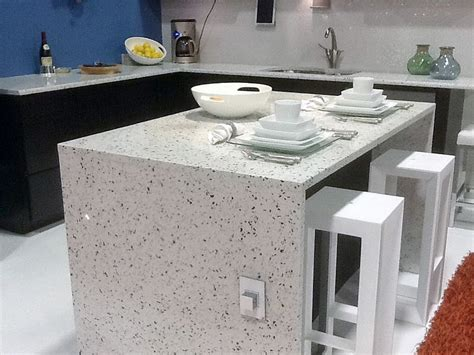 recycled glass countertop kitchen countertop materials from granite to laminate