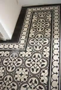 black and white floor tiles portugese tegels house ideas