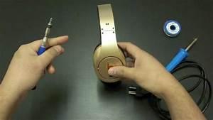 How To Fix Broken Beats By Dr  Dre Studio