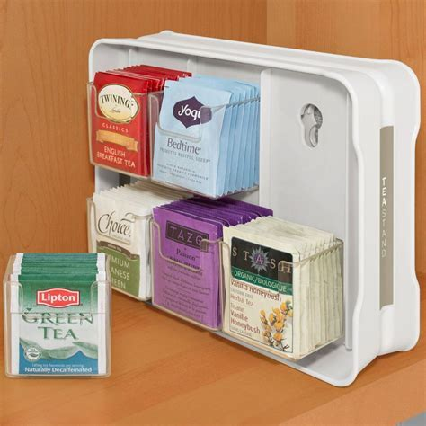 Tea Bag Organizer in Tea and Coffee Storage