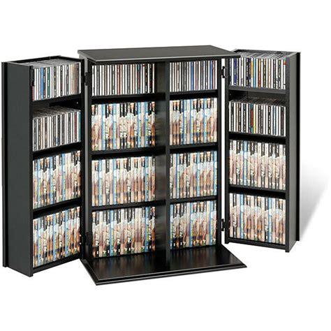 Dvd Closet Storage by Broadway Locking Dvd Cd Media Storage Cabinet Ebay