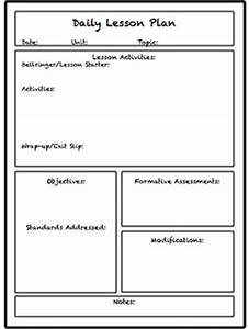 teachers college lesson plan template - lesson unit plan templates for middle or high school tpt